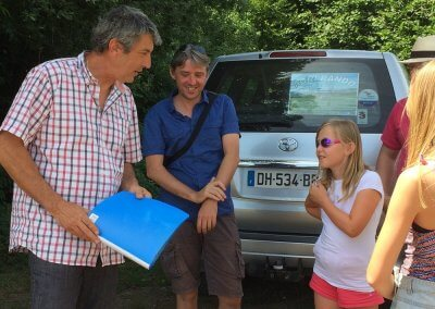 Tourist activity in Family in Corrèze - Agri Rando - Right answer on a ''mystery ''!