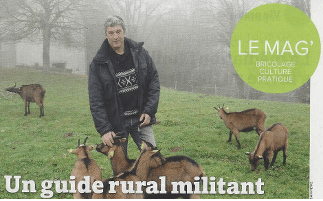 "Agri Rando in the magazine: ""La France Agricole"""